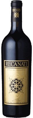 Recanati Special Reserve 2012