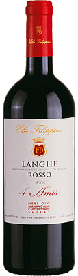 "Langhe DOC Rosso ""4 Amis"" 2012"